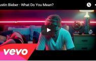 Justin Bieber - What Do you mean è il nuovo Video