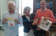 Voltri - Premio Pinocchio 2015 consegnato a Luigi Merlo