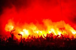 Roma, scontri tra Polizia e ultrà del Galatasaray