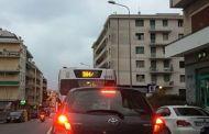Pioggia e vento, traffico paralizzato in tutta Genova