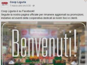 Coop Liguria su Facebook