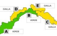 Maltempo Liguria, allerta