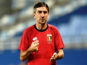 Nella foto, l'allenatore del Genoa Ivan Juric