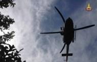 Cade rovinosamente con la mountain bike, 35enne salvato dall'elisoccorso