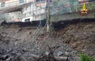 Casarza Ligure, Vigili del Fuoco diffondono video della frana sul capannone