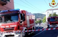 La Spezia - Grossa fuga di gas in via Lunigiana