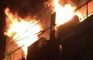 Marassi - Incendio in un appartamento di via Piantelli: morta una donna