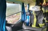 Crotone, treno investito da una tromba d'aria, feriti alcuni passeggeri