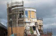 Marinella di Nervi, lavori bloccati e struttura a rischio crollo