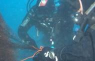 Haven, rimossa la rete impigliata nel relitto: stop al divieto di immersione