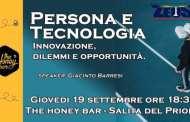 Persona e tecnologia, i dilemmi del progresso: incontro con Giacinto Barresi