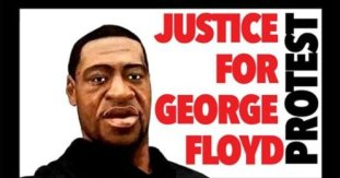 Advocacy groups hold George Floyd protest outside Nassau ...