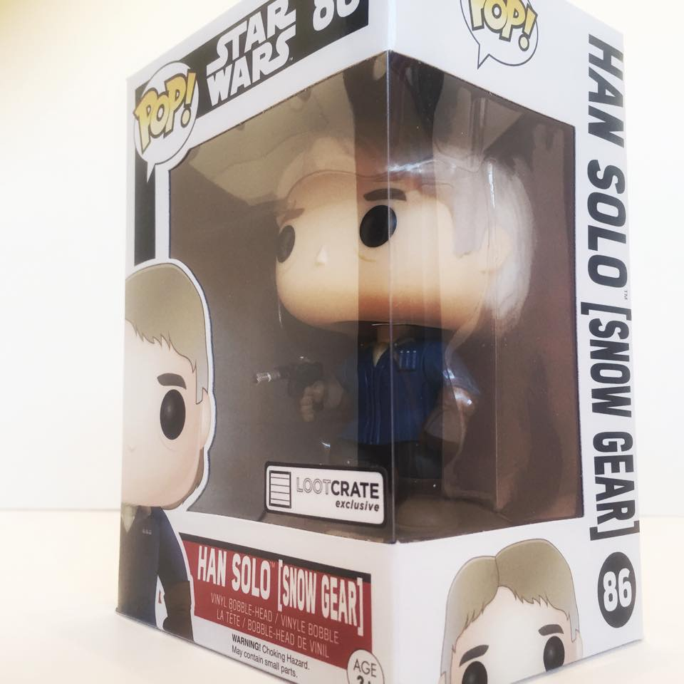 Exclusive Han Solo Funko POP!