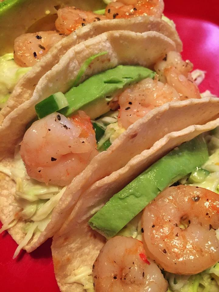 Sweetheart Shrimp Tacos