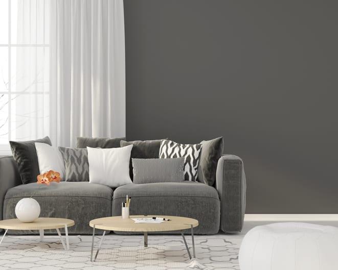 Esempio di camera da letto con pareti color tortora. Pareti Color Tortora O Color Fango Negli Ambienti Di Casa Consigli E Idee