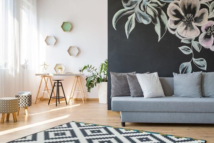 Mentre il colore o lo stile giusto di una parete è facile. Pitture Moderne Dai Un Tocco Sorprendente Alle Pareti Della Tua Casa