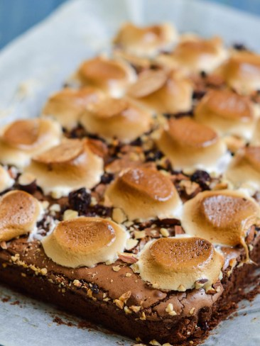 rocky road brownies (2)