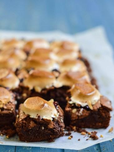 rocky road brownies (5)