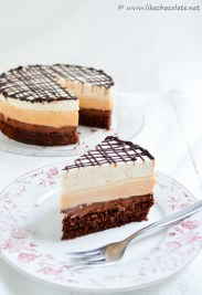 mousse torta od čokolade, karamele i mascarponea (5)