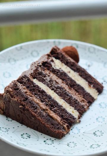 čoko dulce torta presjek