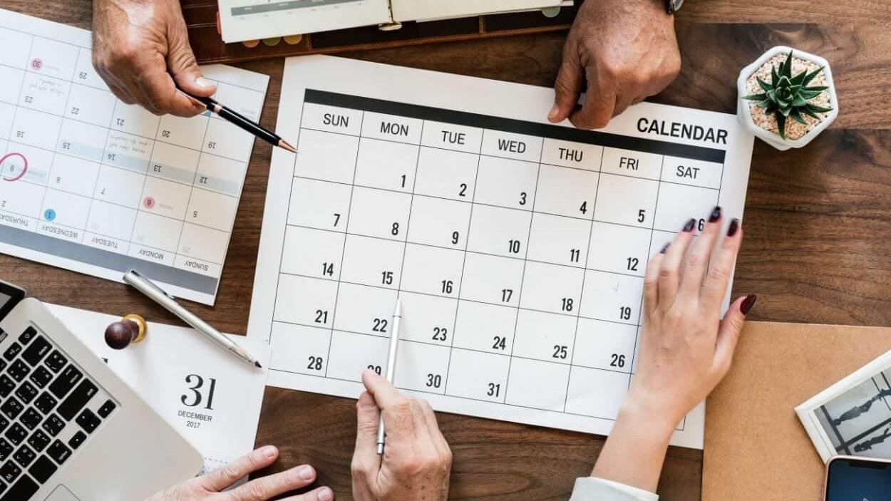 Social Media Calendar Planning