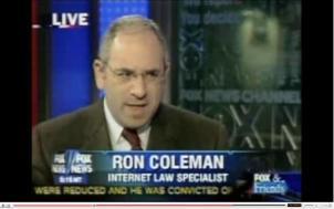 Ron Coleman on Fox News