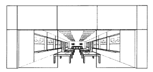Apple Store trademark application drawing