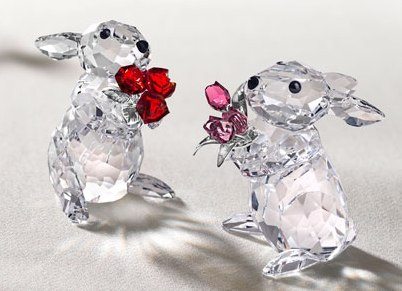 Why can't UDRP parties just get along like these cute Swarovski bunnies?