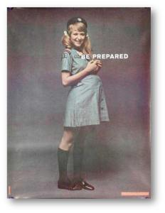 Girl Scout v Personality Posters
