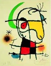 Among the Bullrushes by Joan Miro
