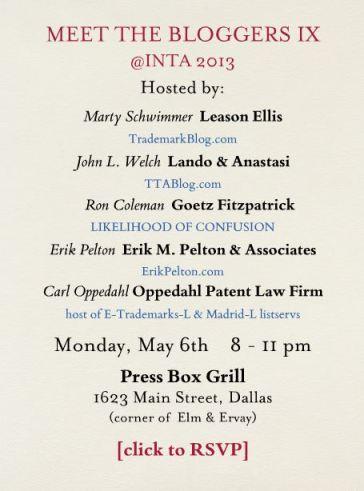 Meet the Bloggers 2013 - INTA Dallas