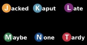 Parody Subway Logos