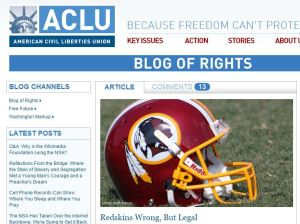 Redskins Wrong But Legal
