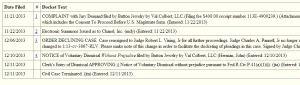 Val Colbert v Chanel - Voluntary dismissal