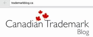 Canadian Trademark Blog