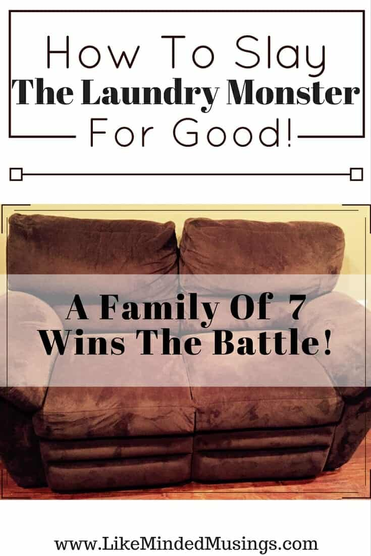 Slay The Laundry Monster For Good - How A Family Of 7 Won The Battle!