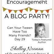 Tween Parenting Blog Party Featured Author Shelley Noonan Like Minded Musings