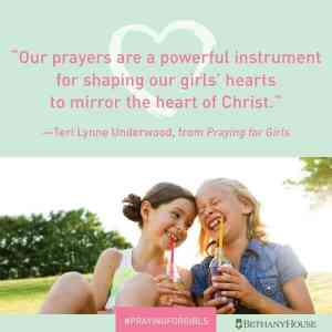 Praying for Girls Book Review Like Minded Musings