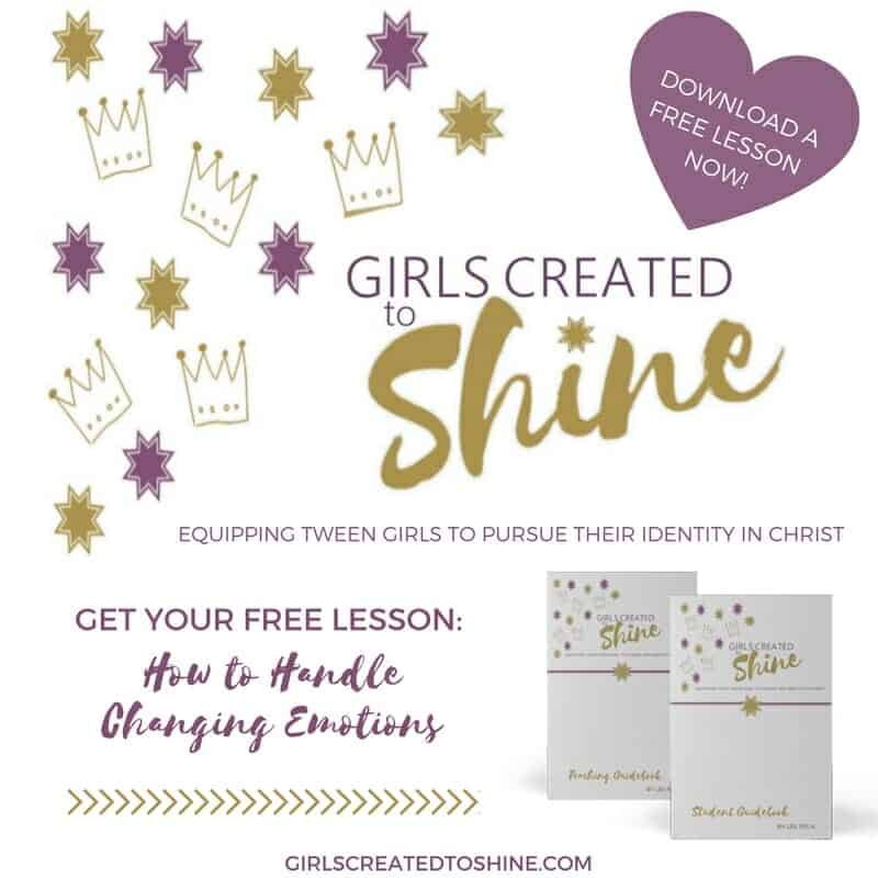 Free LessonHow to Girls Created to Shine Handle Changing emotions