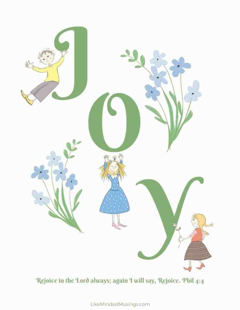 True Joy Printable Like Minded Musings