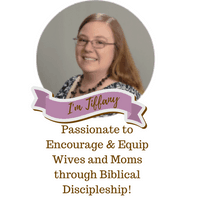 Tiffany is a Jesus Girl with a passion to Encourage and Equip Wives and Moms through practical Biblical Discipleship on her blog HopeJoyinChrist.com.