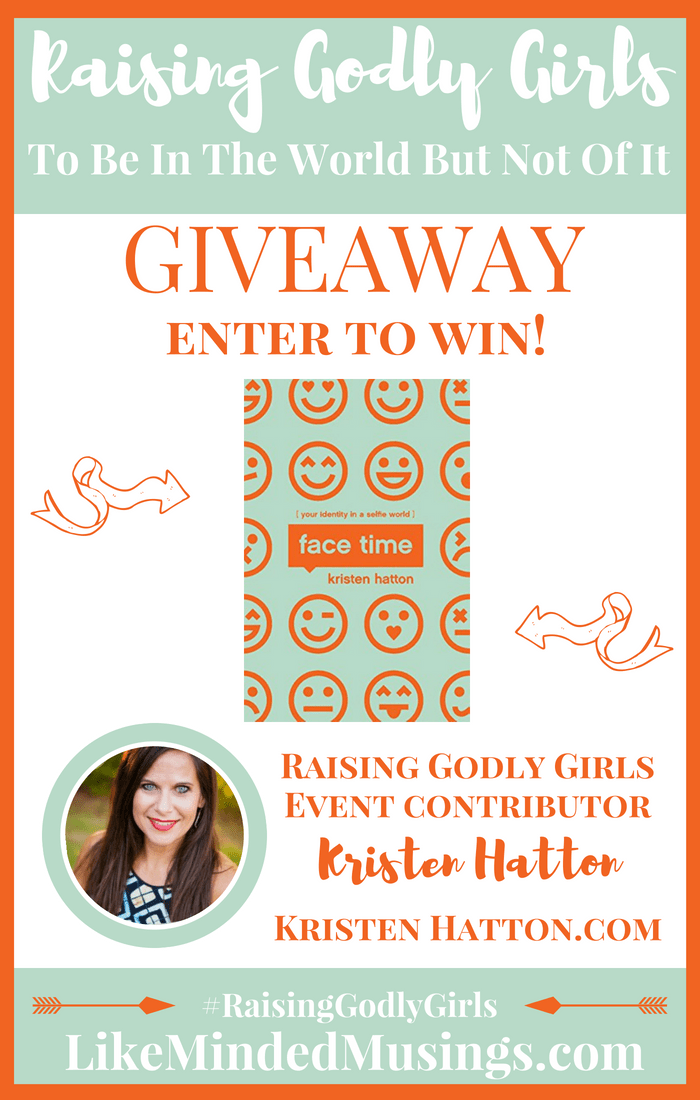 Giveaway Kristen Hatton Facetime Like Minded Musings