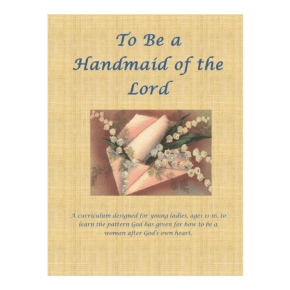 Handmaiden of the Lord Giveaway