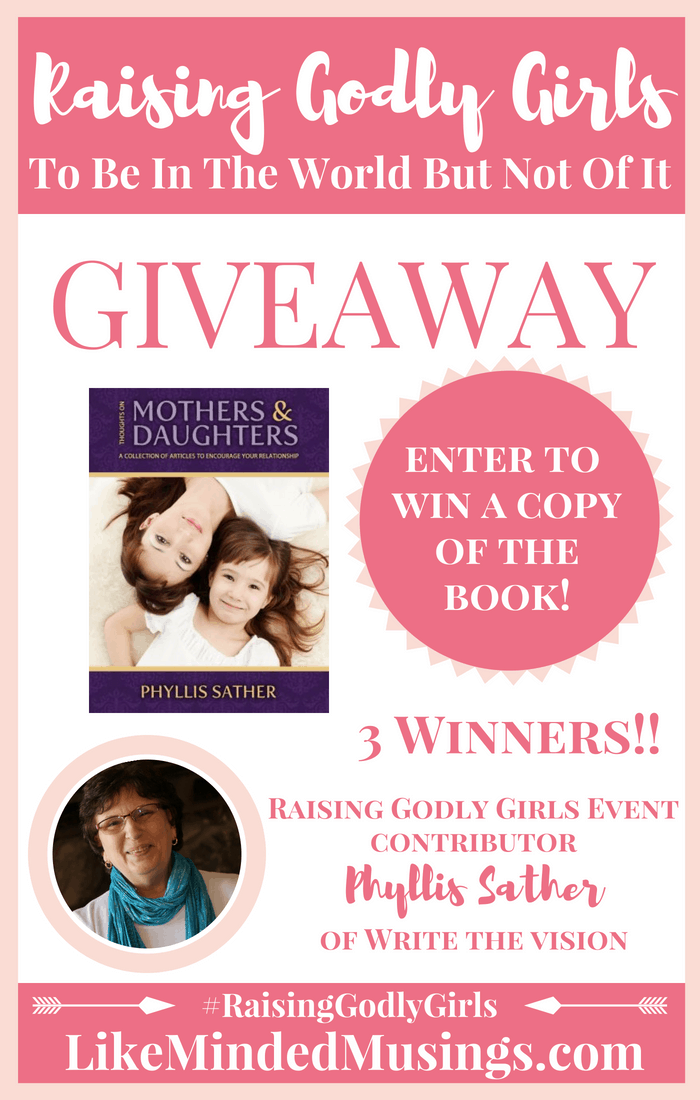 Write The Vision Giveaway Raising Godly Girls Like Minded Musings