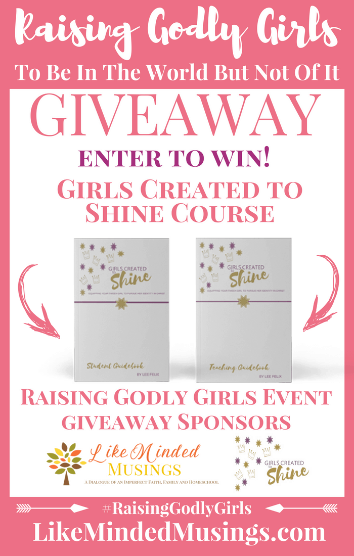 Giveaway Girls Created To Shine