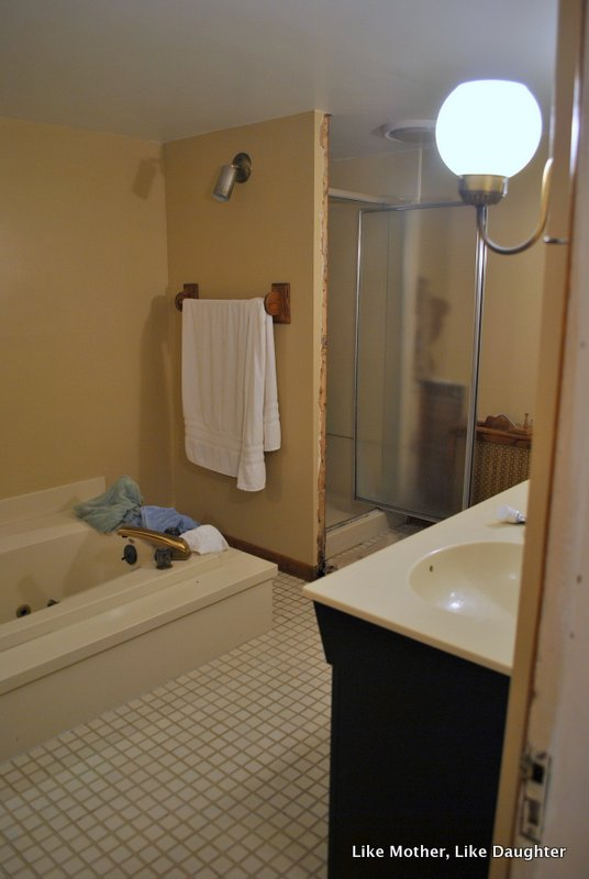 Bathroom Fixtures Part - 49: BEFORE: Working With Almond Fixtures ~ Like Mother, Like Daughter