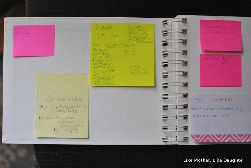 Updated sticky-note to-do list system