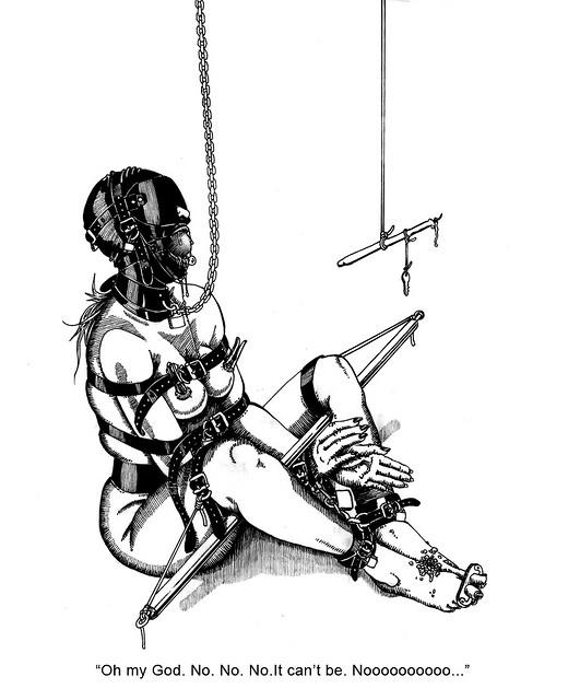 Szenario selfbondage Self Bondage