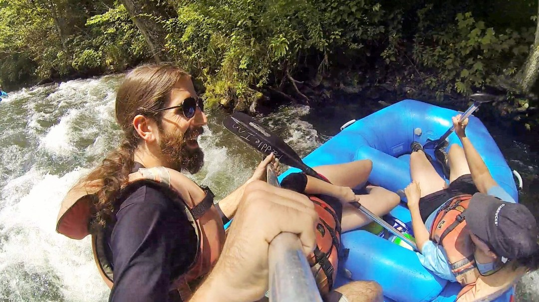 Take a whitewater rafting trip down the Nantahala river.