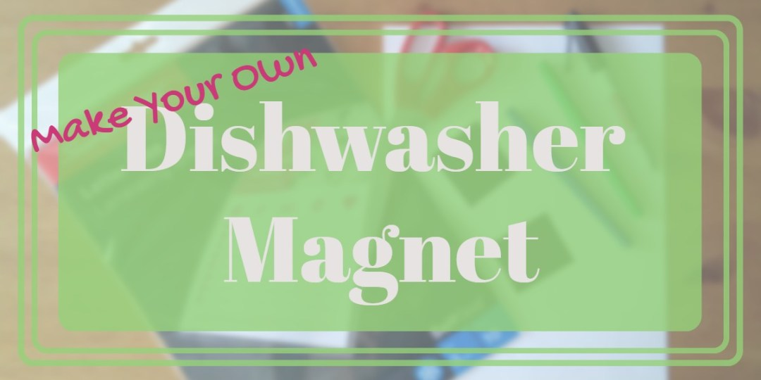 Are these dishes clean? Uh Oh can't tell! Make this simple little dishwasher magnet and always know for sure